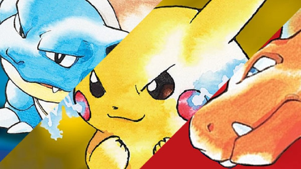 pokemon red blue and yellow